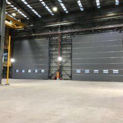 Puerta rápida Megapack